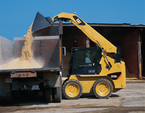 Heavy Construction Skid Steer